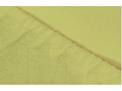Простыня махровая на резинке (цвет салатовый)